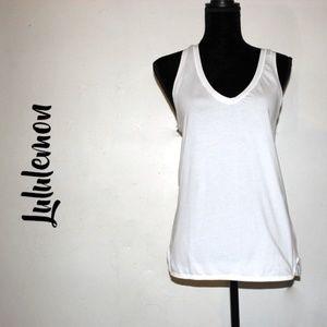 Lululemon athletica Cool Racerback White Size 10